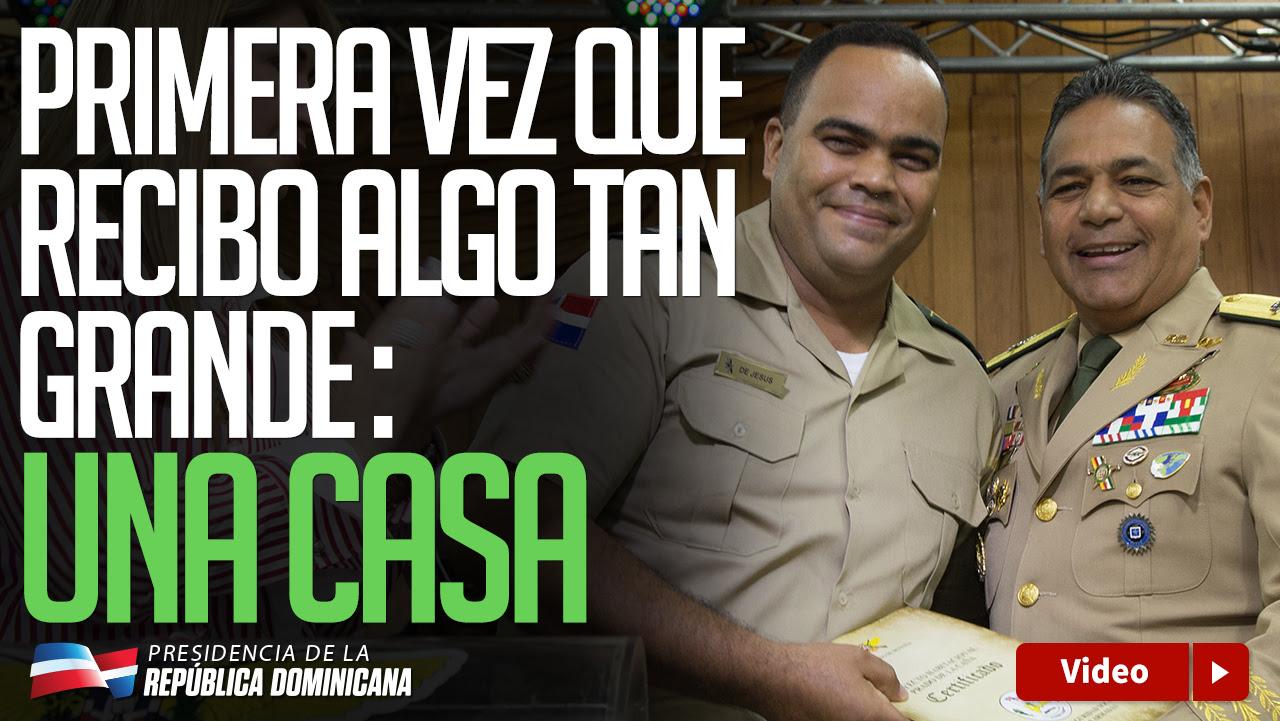 Gran júbilo entre militares; reciben 298 casas y apartamentos donados por Danilo Medina Viernes, 28 de julio de 2017