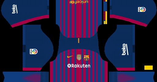 FC Barcelona 2018 FULL KIT LEAKED DLS/FTS