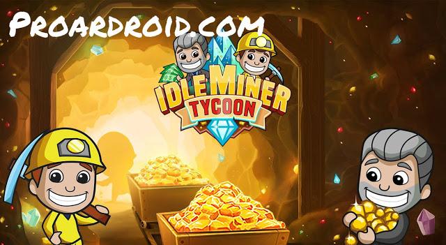 تحميل لعبة زعيم المناجم Idle Miner Tycoon v2.45.0 مهكرة