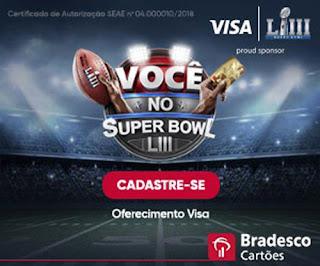 Promoção Você no Super Bowl Bradesco