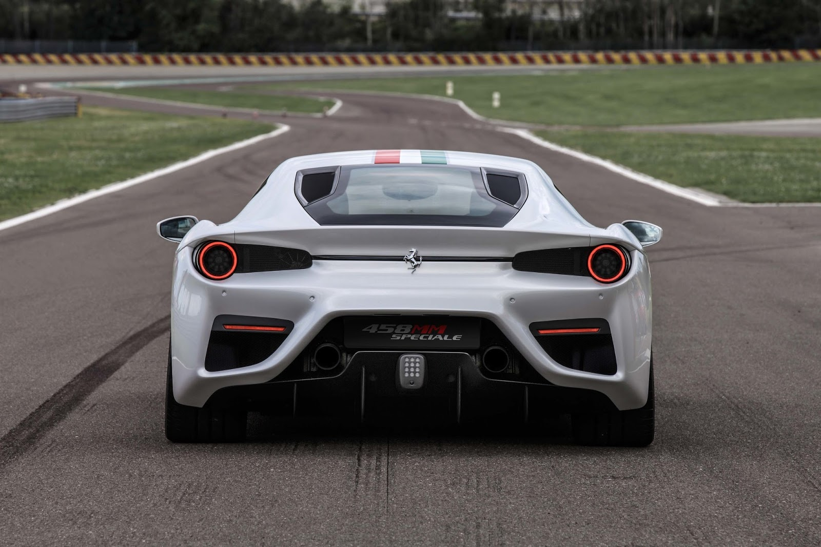 A Mm Speciale Supercar For British Wealthy Person