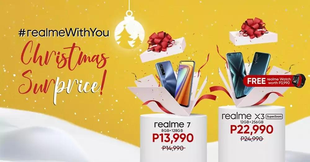 realme X3 SuperZoom and realme 7 price drop