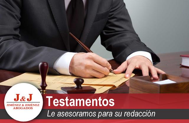 Tipos de testamentos y su redacción en Málaga