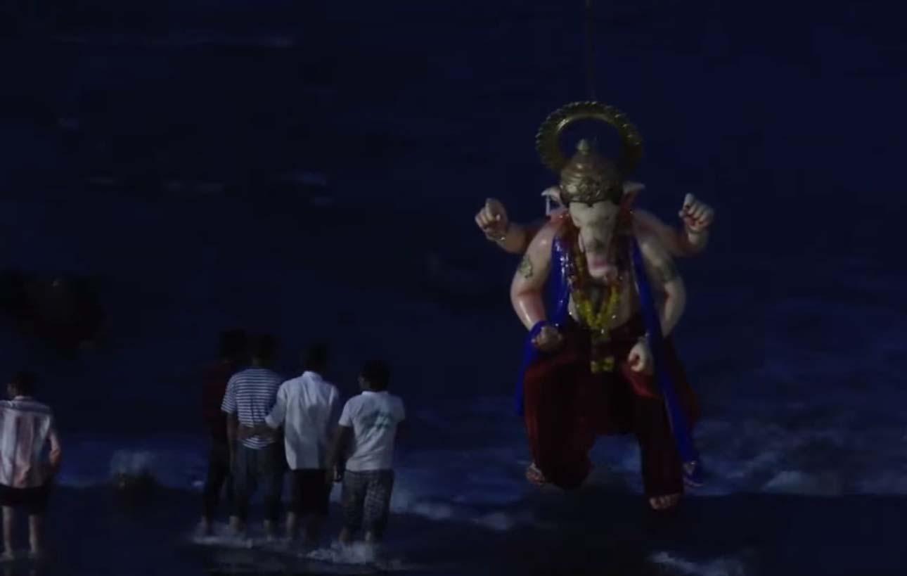 Jhabua News- Jhabua Ka Raja Ganeshotsav-झाबुआ के राजा की आरती बाद निकला महा-विसर्जन चल समारोह
