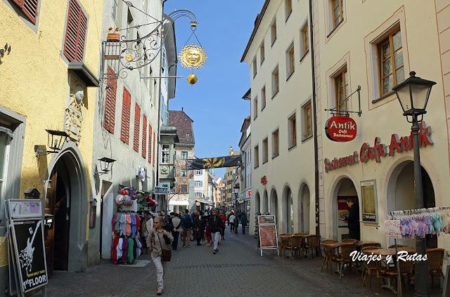 Calle Hussenstrasse de Constanza