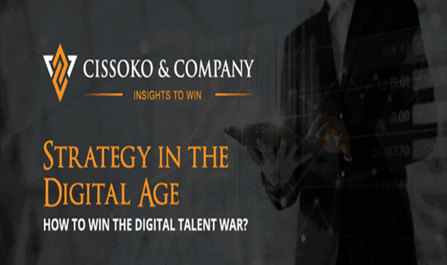 Strategy in the Digital Age: How to Win the Talent War #infographic