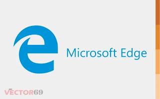 Logo Microsoft Edge Browser - Download Vector File AI (Adobe Illustrator)