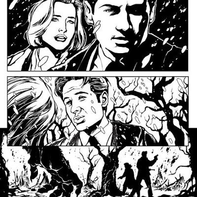 the x-files comic books