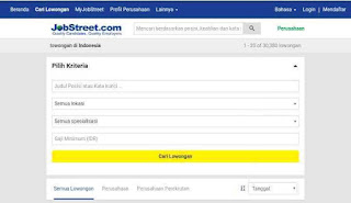 Website jobstreet