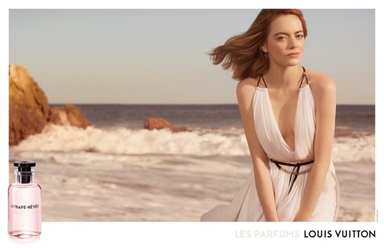 Louis Vuitton features Emma Stone in its 'Attrape-Rêves' fragrance campaign