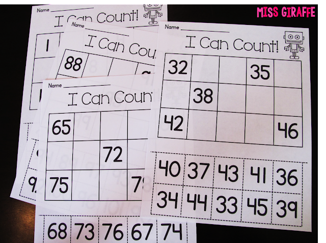 math worksheet : miss giraffe s class building number sense in first grade : Math Number Sense Worksheets