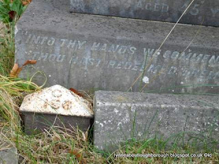 Loughborough cemetery plotmarkers