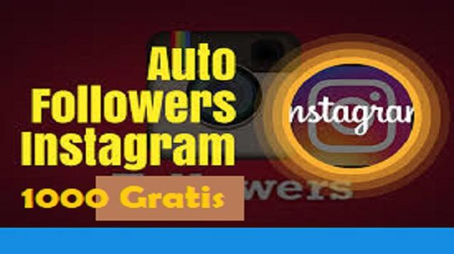 Auto Followers IG 1000 Gratis