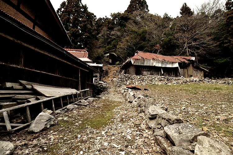 スゴログ 後谷集落 廃村