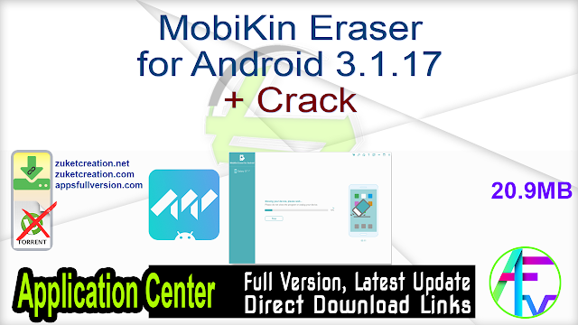 MobiKin Eraser for Android 3.1.17 + Crack