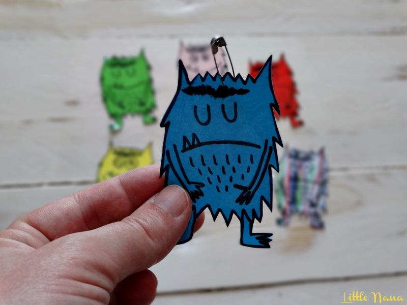 educacion emocional recurso monstruo de colores