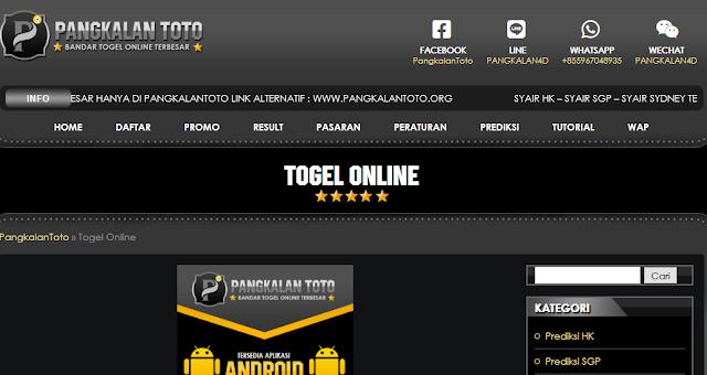 Pangkalan Toto: Agen Togen Online Bonus Saldo 10rb