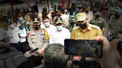 PPKM Darurat di Kota Medan, Gubsu Edy Rahmayadi: Semua Kabupaten/Kota Harus Berpartisipasi