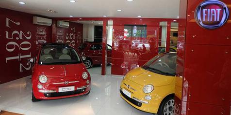 Garansindo Serahkan 2 Unit Fiat Buat Pengisi BBM Shell