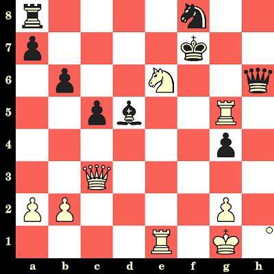 Les Blancs jouent et matent en 4 coups - Arthur Bisguier vs Lubomir Kavalek, Tel Aviv, 1964