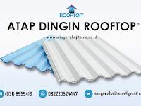 Atap Rooftop Pelopor Atap UPVC Dingin