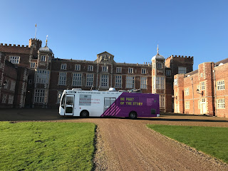 BBC Humbersdie's bus at burton constable hall