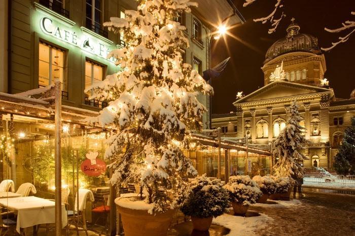 Christmas at Switzerland