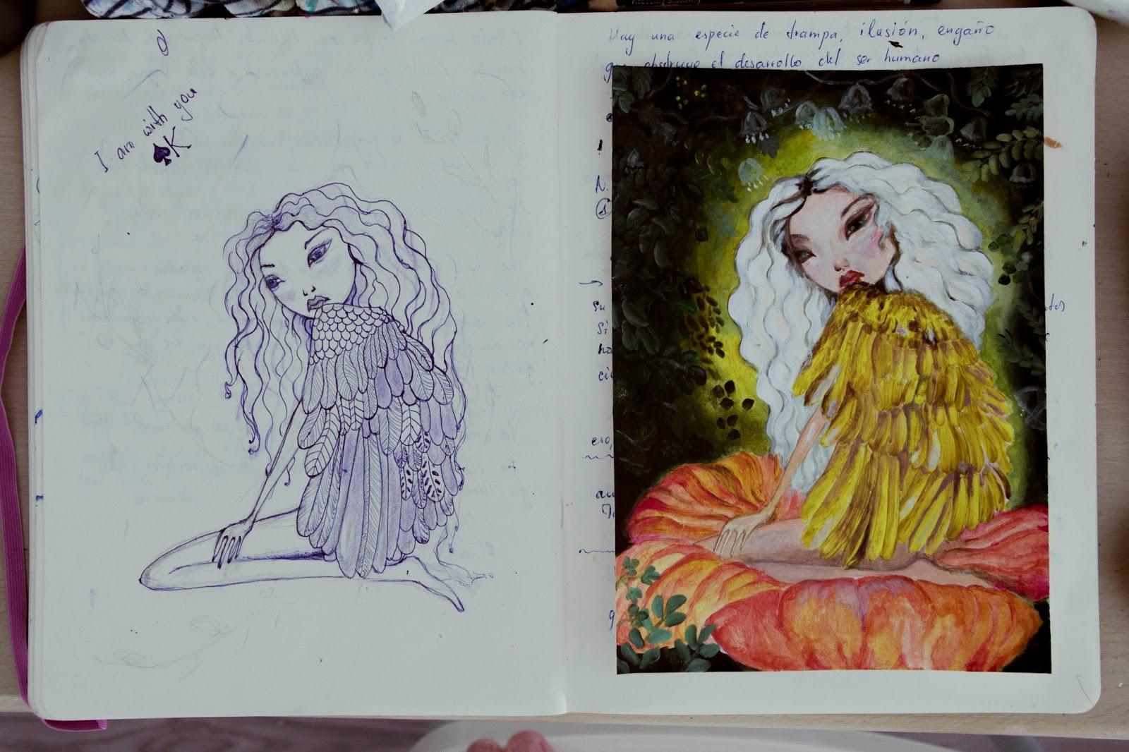 ilustración libros