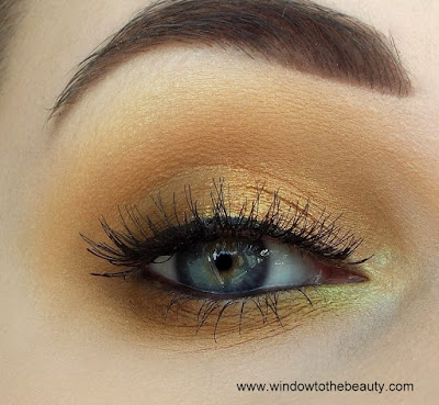 neutral autumn makeup