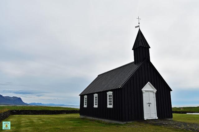Iglesia Búdarkirkja, Islandia