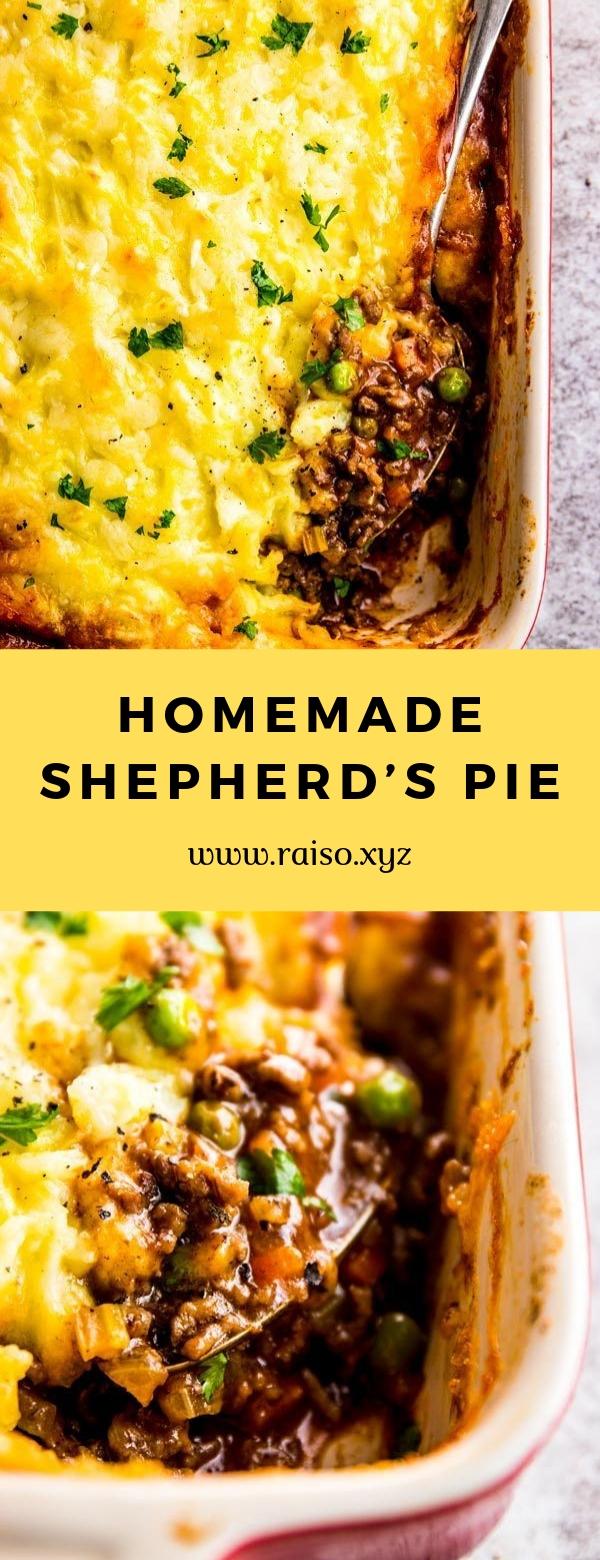 HOMEMADE SHEPHERD'S PIE #casserole #comfortfood