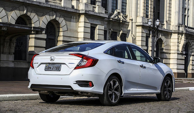 Novo Honda Civic Touring 2017