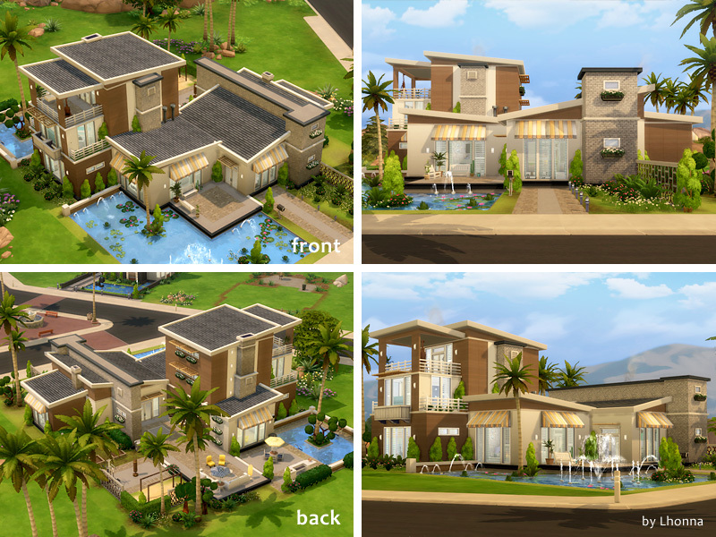 Summer Dream House Sims 4 Houses
