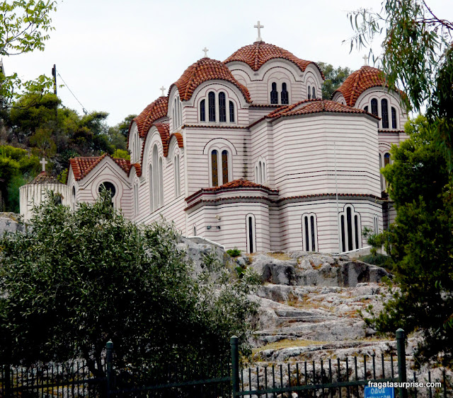 Igreja de Agia Marina, no Pnyx, em Atenas