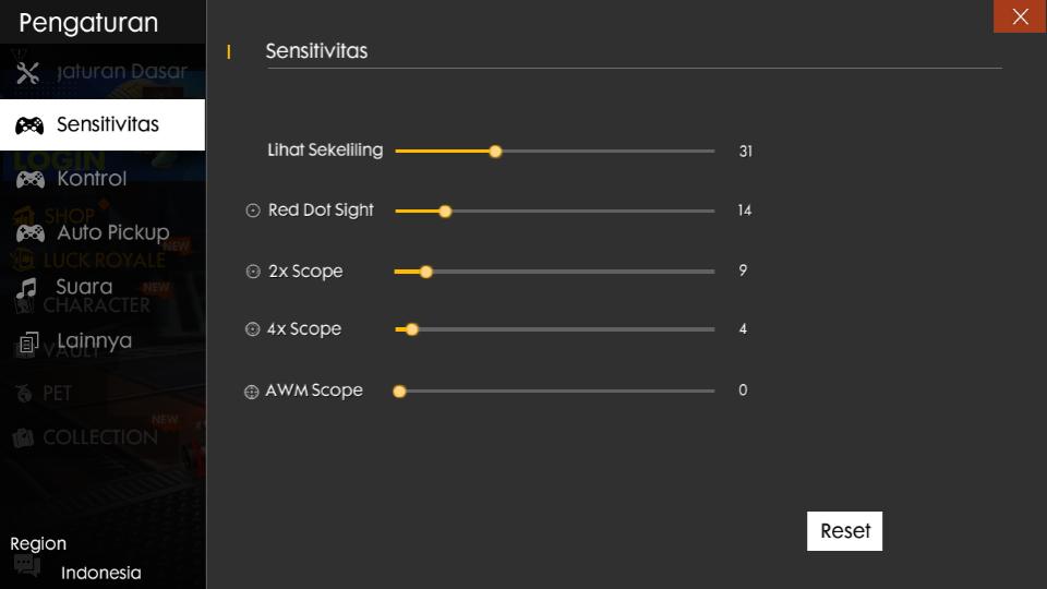 Senstivitas Budi01 Gaming Terbaik 2020 Auto Headshot