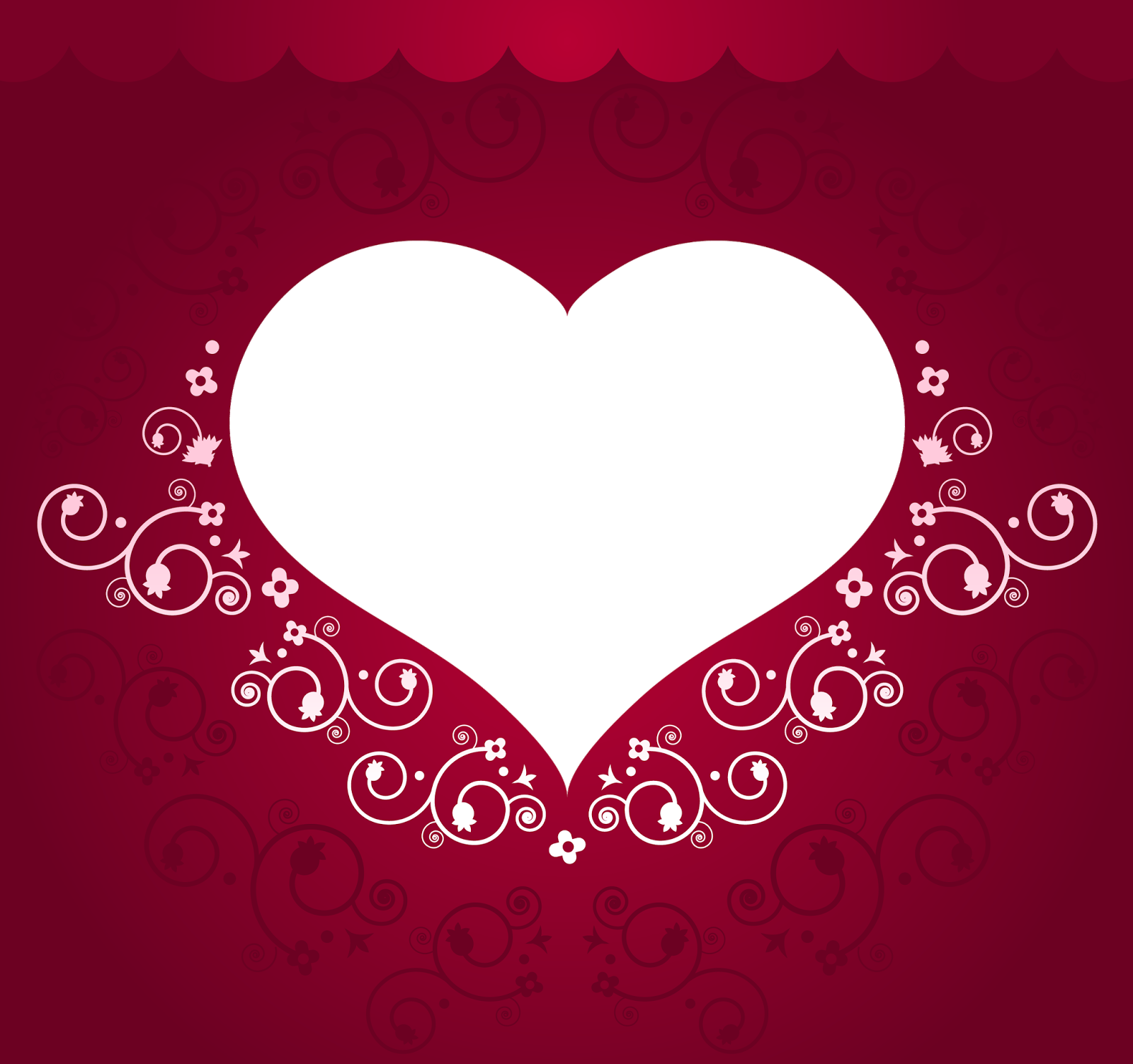 111 Free Png Frames - Heart Frames For Photos