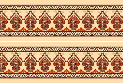 Digital border design 1050