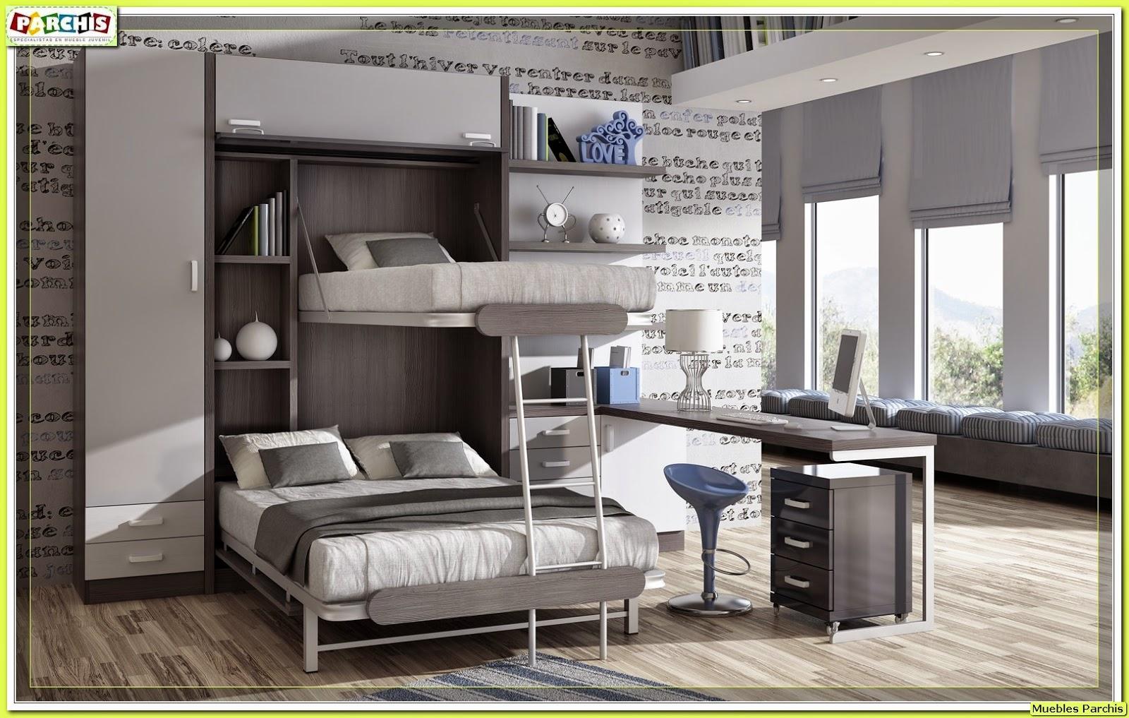 Muebles juveniles dormitorios infantiles y habitaciones - Muebles infantiles para habitaciones pequenas ...