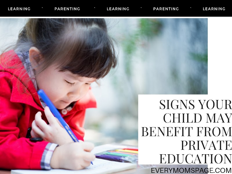 Signs Your Child May Benefit from Private Education