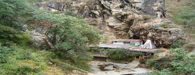Kausani Attraction : Rudradhari Falls and Caves Kausani