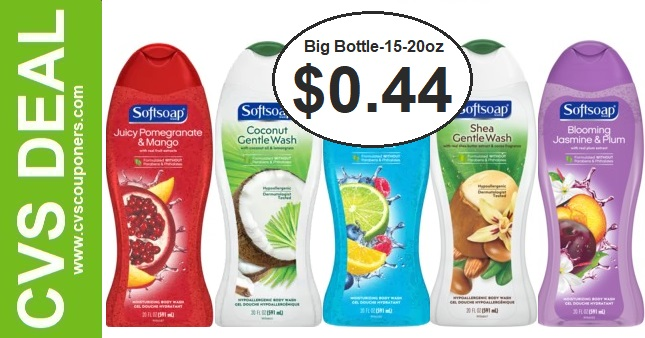 Softsoap Body Wash CVS Deal 8-30-9-5