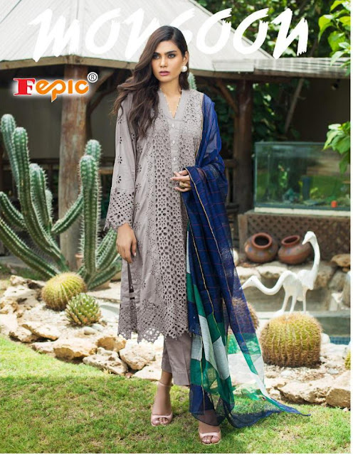 Fepic Rosemeen Monsoon Pakistani Suits Wholesale