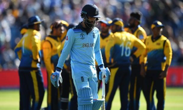 ورلڈ کپ جھٹکا میں انگلینڈ کو سری لنکا اور مالنگا نے اڑا دیا