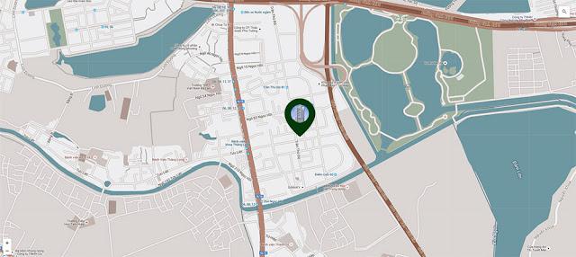 Vị trí dự án chung cư số 1 Trần Thủ Độ