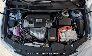 2015 Toyota Camry Atara SL Hybrid Engine Performance