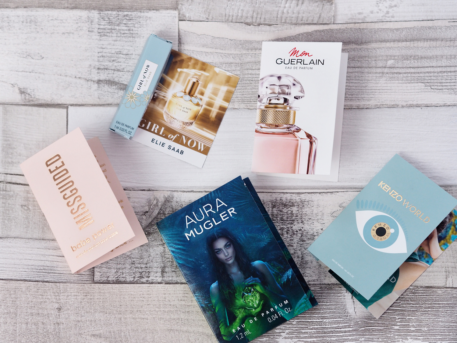 Trying new summer perfume launches