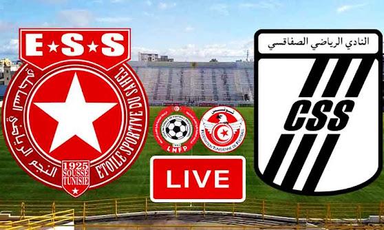 Match Etoile du Sahel VS CS Sfaxien Live Stream