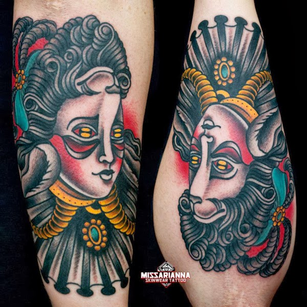 Tattooz Designs: Traditional Tattoos For Men