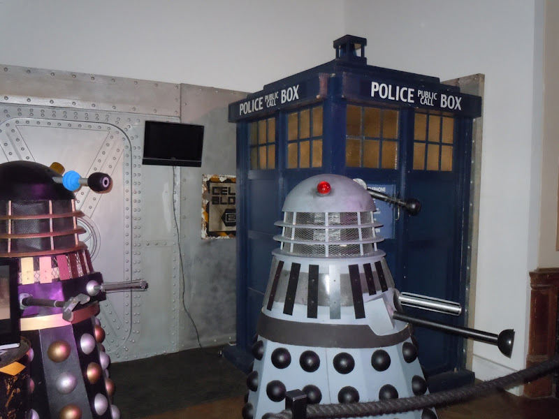 Dr Who and the Daleks 1965 movie display