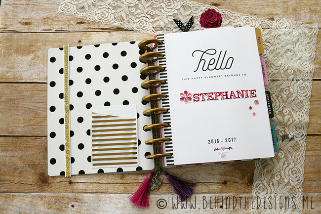 Intro Page of the Make Everyday Count Happy Planner by MAMBI | Behind the Designs DIY Craft Blog